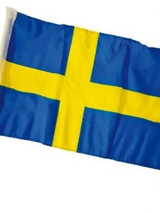 Swedish car flag
