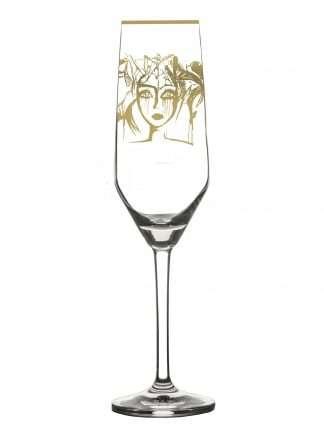 Champagneglas Slice Of Life Guld