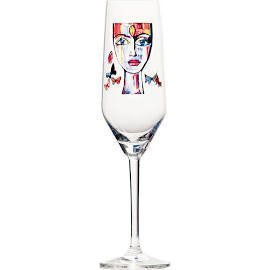 Champagneglas Butterfly Messenger