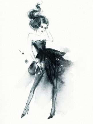 Black Dress poster