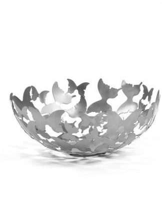 Skål Butterfly Silver
