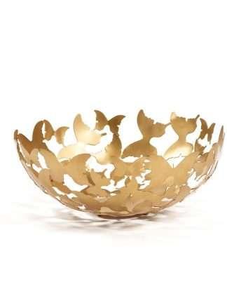Skål Butterfly Guld