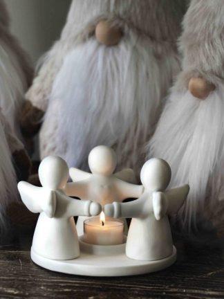 Guardian Angels Trio Tealightholder